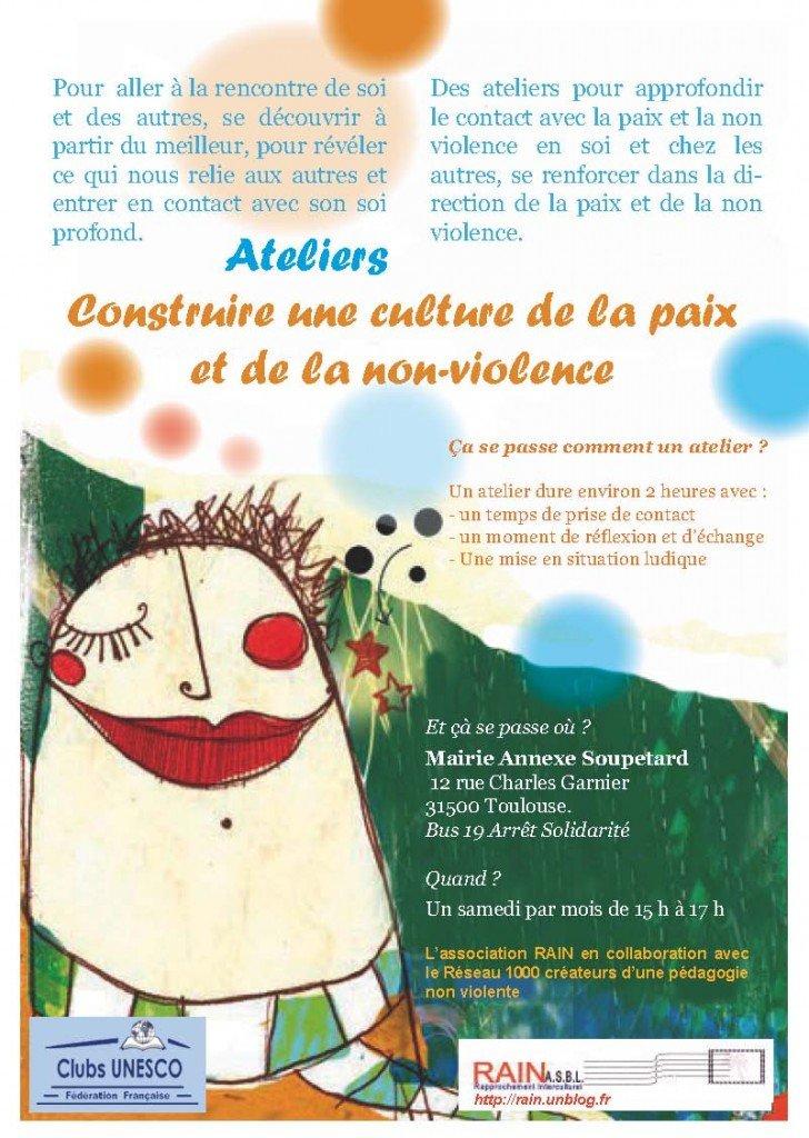 ATELIERS : Construire une culture de la paix et de la non-violence dans animations Atelier-NVA-Toulouse-1-728x1024
